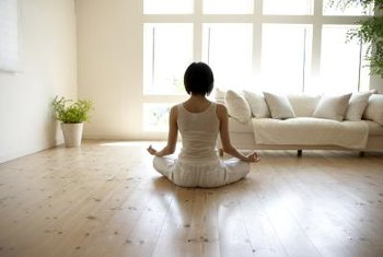 Fewer possessions frees more room in life for yoga and meditation.