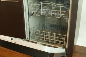Dishwasher leaks can often be traced to a damaged door gasket.