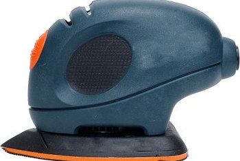 You'll love the versatility of an oscillating palm sander.