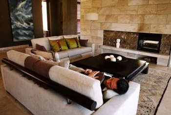 Place furniture around a focal point, such as a fireplace.