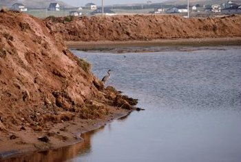 Erosion can lead to a mud- or landslide if left unchecked for many years.