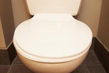 A water-damaged subfloor can make the toilet leak.