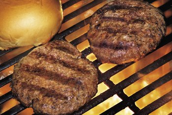The type of ground meat you use affects the protein content of your burger.