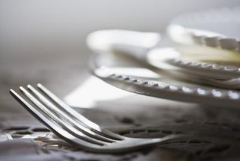 Proper cutlery placement can turn any dinner into a special occasion.