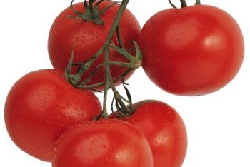 Smaller tomatoes, like cherries and small slicers, tend to crack less.