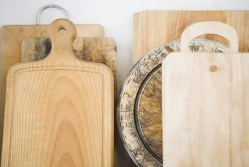 Seal cutting boards monthly.