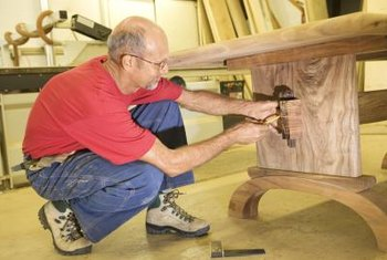 Apply glaze and finish to your woodworking projects.