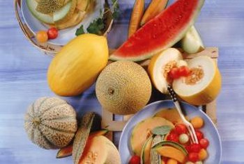 Like most fruit, melons are low in starchy carbohydrates.