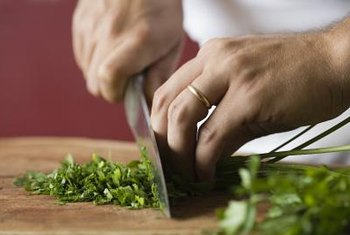 Cilantro stems can be included with the fresh leaves, or used on their own.