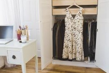 Use the closet's height to maximize your vertical storage space.
