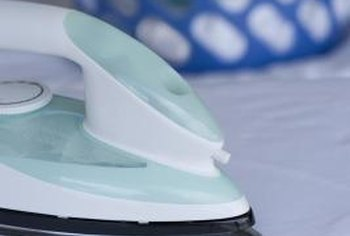 A hot iron activates the adhesive in fusion tape for a clean, easy hem.