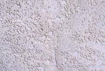 Textured walls are an inexpensive way to hide flaws.