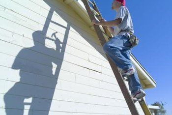 Prevent oxidation by making cleaning of vinyl trim part of your yearly home maintenance.
