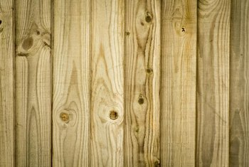 It's important to seal knotty pine before staining it.