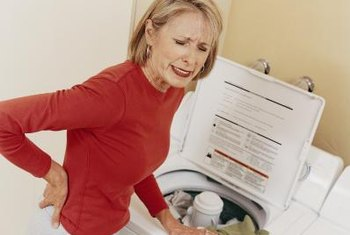 Washing machine agitators can damage clothes.
