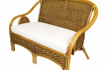 Wicker and rattan are staples of the British Colonial style.