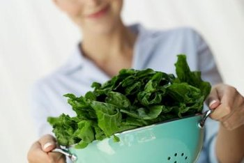 Baby spinach is rich in a number of essential nutrients, but not potassium.