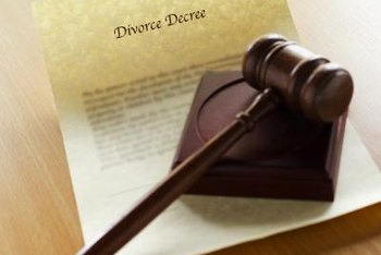 Lenders usually ask for a divorce decree when removing a borrower from the mortgage.
