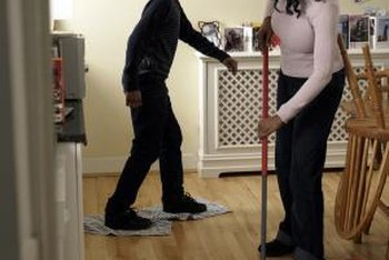 Proper mopping techniques result in cleaner, streak-free floors.