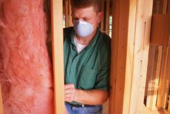 Dirt and organic material trapped in fiberglass insulation can become a breeding ground for mold.