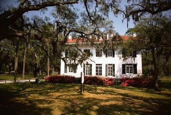 Traditional Southern homes are often spacious and elegant.