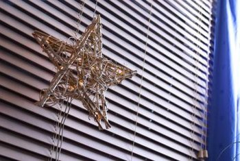 A grapevine star gives a rustic feel to Christmas decor.