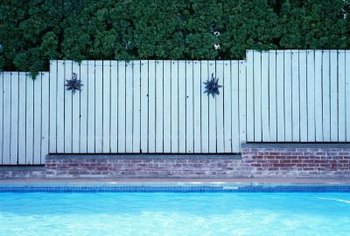 Fence in the pool to keep kids out.