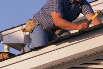 Gable roofs are among the simplest roof lines for installing shingles.