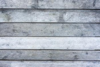 Pickling gives your paneling a weathered appearance.