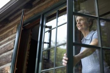Open windows, weather permitting, to increase air circulation in your home.
