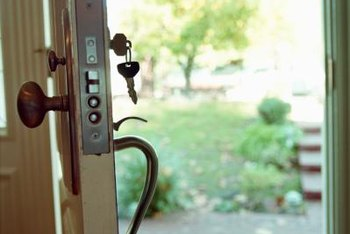 Attractive If You Replace The Old Hardware With New Locks That Are Similar, The Task Is