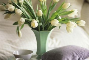 Use small doses of green in a neutral bedroom if you're not ready for a big committment.
