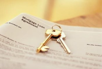 Mortgages secure loans given by promissory note.
