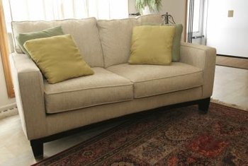That favorite love seat benefits from regular maintenance.