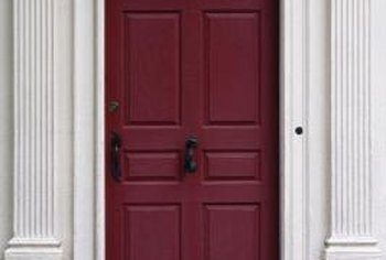 Wood doors have some natural insulation effect. & What Is the R-Value of a Wooden Entry Door? | Home Guides | SF Gate