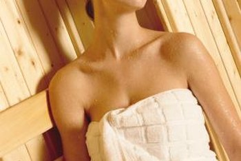 Local building codes sometimes regulate the wall materials used in a sauna or steam room.