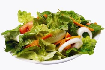 Start your meal with a nutritious salad.