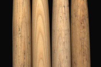Hickory wood is traditionally used for baseball bats and many other wood products.