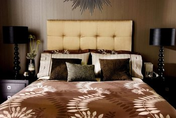 Make your own upholstered headboard to save hundreds of dollars.