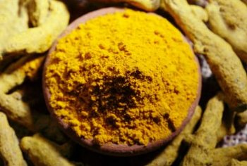 Turmeric is a brightly colored, yellow-orange spice.