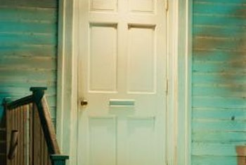 You can cut a mail slot in your front door in just a few minutes.