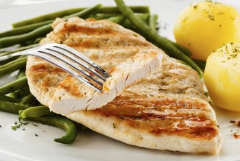 Getting enough protein with each meal can help prevent muscle wasting.