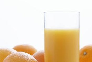 Drink orange juice as a source of vitamin B-6.