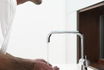 Sinks can become damaged through ordinary use.