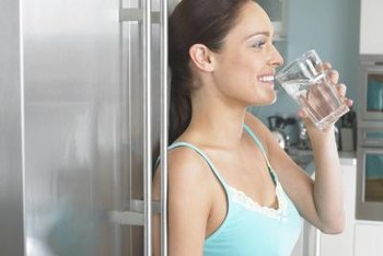 Replace your refrigerator's water filter twice a year for refreshing water.