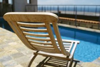 Acrylic fences are often used to enclose pools and patios.