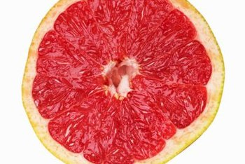 Eating grapefruit may affect your iron absorption.