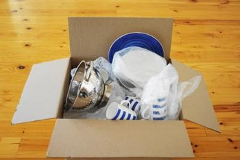 Dishes are more likely to break in an overfilled box.