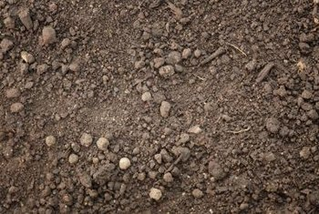 Clay topsoil tends to clump and be harder to spread than other kinds.