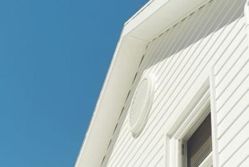 Plywood and fascia can loosen on exterior soffits.